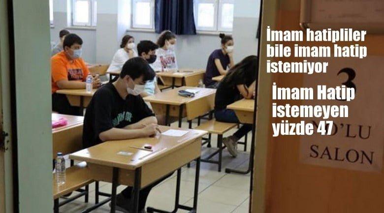 AKParti'nin Yeni Türkiye'sinde İmam hatipliler bile imam hatip istemiyor