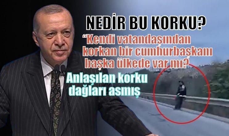 Cumhurbaşkanı Erdoğan'ın Mersin ziyaretinde, nedir bu korku?