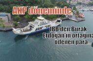 AKP dönemnde İstanbul Büyükşehir Belediyesi'nden, Burak Erdoğan'ın ortağına ödenen para…