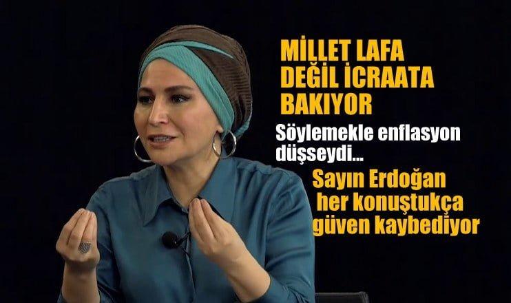"""Karar Yazarı Elif ÇAKIR: """"Millet lafa değil icraata bakıyor"""""""