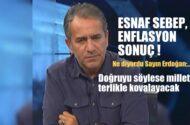 """Yeniçağ Yazarı Murat İDE: """"Esnaf sebep, enflasyon sonuç!"""""""