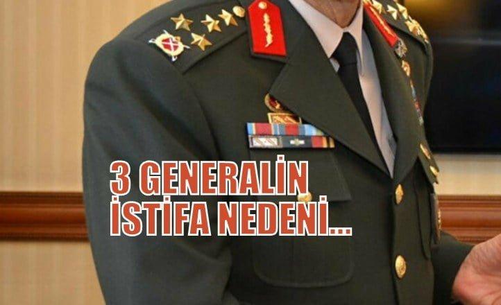 Sözcü Yazarı ÖZTÜRK:Generallerin istifa nedeni…