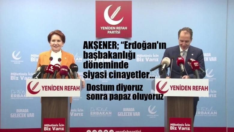 İyi Parti Genel Başkanı AKŞENER, Yeniden Refah Partisi ziyaretinde…